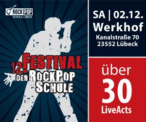 12. Festival der RockPopSchule