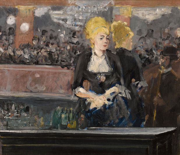 Die Bar in den Folies Bergère, 1881