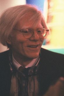 Andy Warhol in Lübeck, 1980